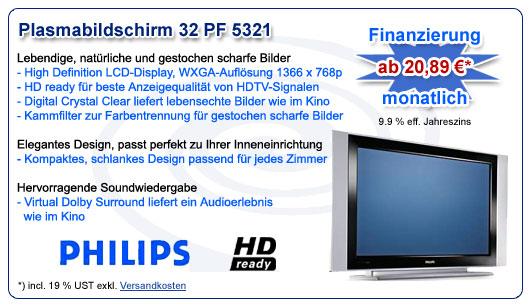 Philips Plasmafernseh 32 PF 5321