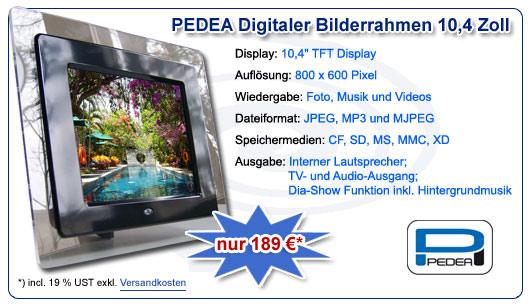 PEDEA Digitaler Bilderrahmen