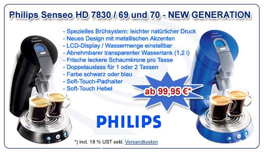 Philips Senseo HD 7830